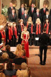 Petra Valman är en uppskattad sopransolist vid julkonsert