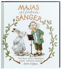 Bild på sångboken Majas alfabetssånger