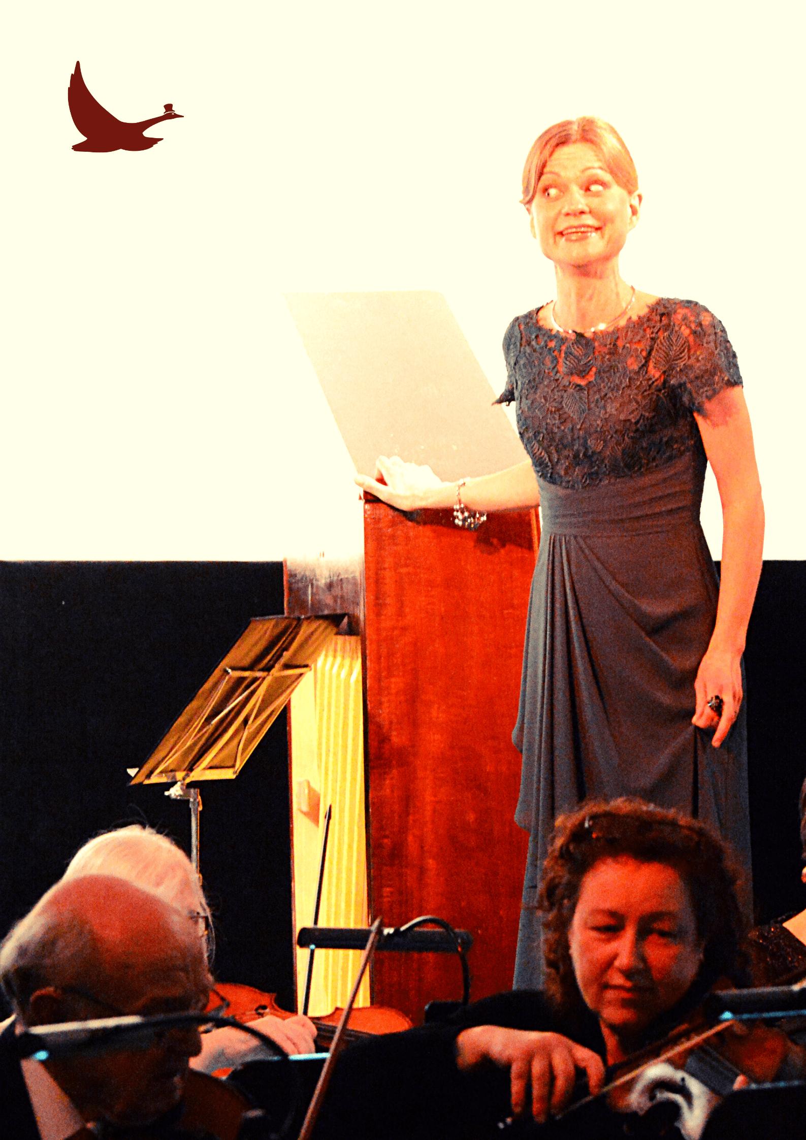 Petra Valman sjunger med orkester